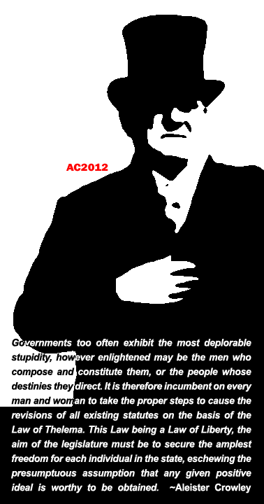 Aleister Crowley politics
