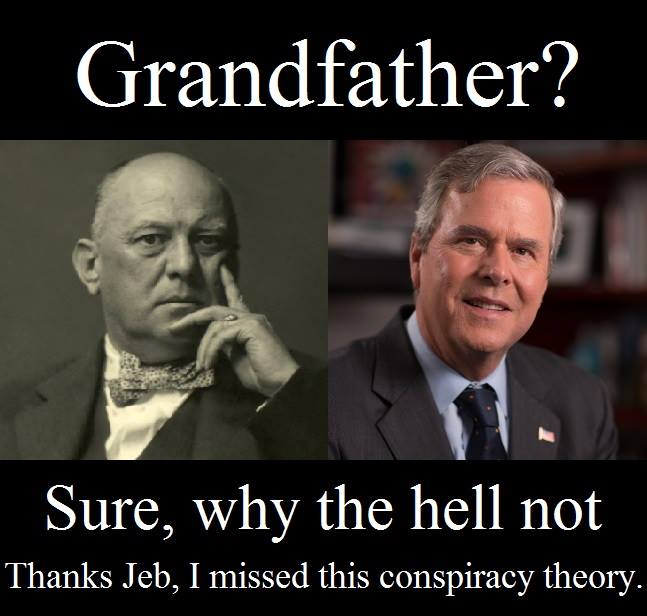 Jeb Bush Aleister Crowley