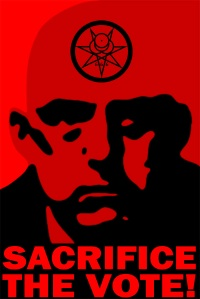 Aleister Crowley 2012: Sacrifice the Vote!