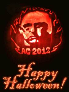 Aleister Crowley 2012 Pumpkin