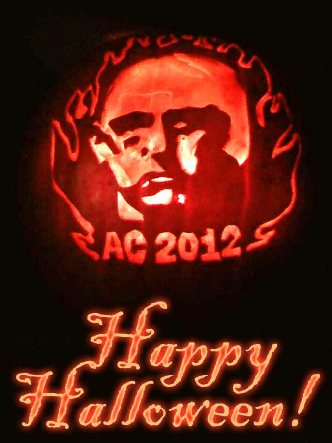 Aleister Crowley 2012 Pumpkin