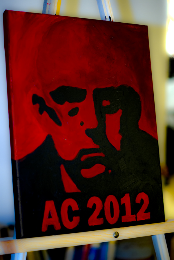 Aleister Crowley 2012 limited edition print 8 of 10