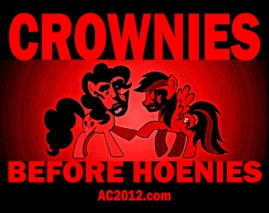 Crownies before Hoenies