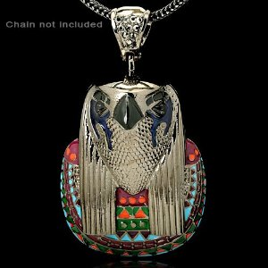 Horus Bling inspired by Kanye West and Aleister Crowley