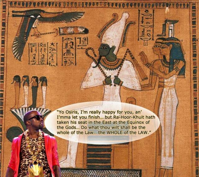 Aleister Crowley, Horus, Kanye West