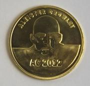 AC2012 brass coin obverse