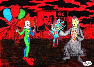 Mr. Clown vs. Aleister Crowley 2012