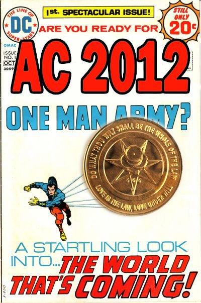 One man Army by smiler - Aleister Crowley 2012