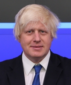 Boris Johnson, sitting mayor of London
