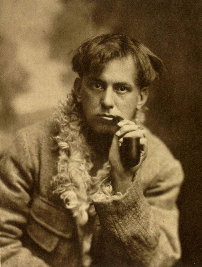 Aleister Crowley homoerotic poet